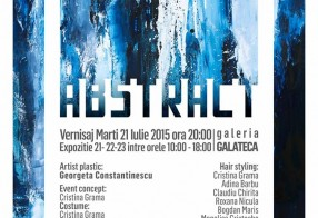 Abstract - Georgeta Constantinescu, Galateca, 21 - 23 Iulie 2015