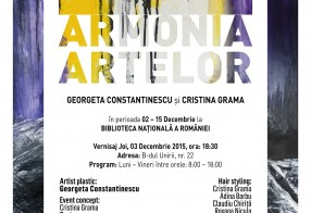 Arts Harmony - Georgeta Constantinescu's Painting Exhibition, Bucharest, 02 - 15 Dec 2015