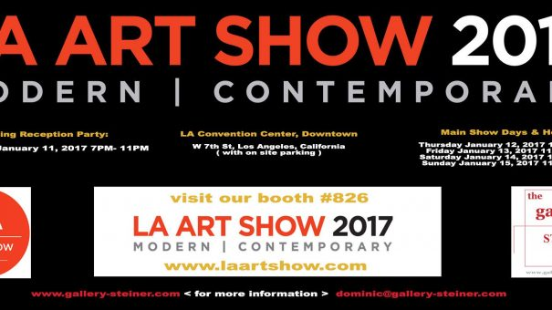 Image of the LA Art Show 2017 Invitation from The Gallery Steiner